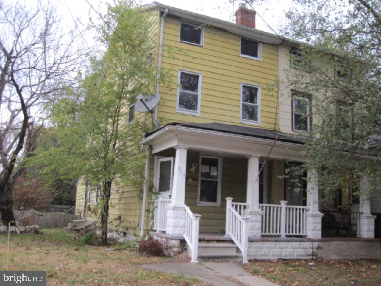 联栋屋 为 销售 在 513 WARREN Street Beverly, 新泽西州 08010 美国