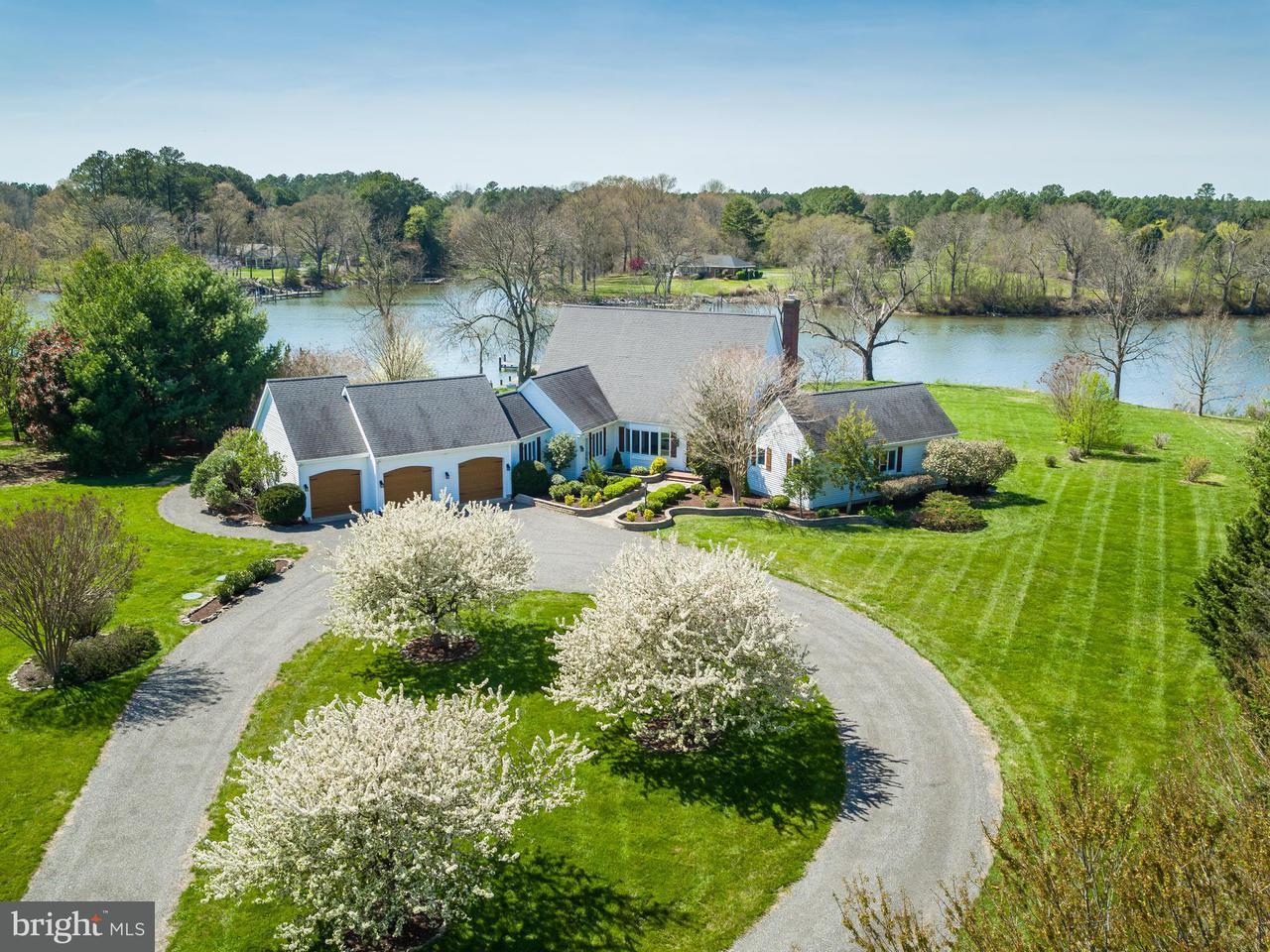 独户住宅 为 销售 在 28250 BRICK ROW Drive 28250 BRICK ROW Drive Oxford, 马里兰州 21654 美国