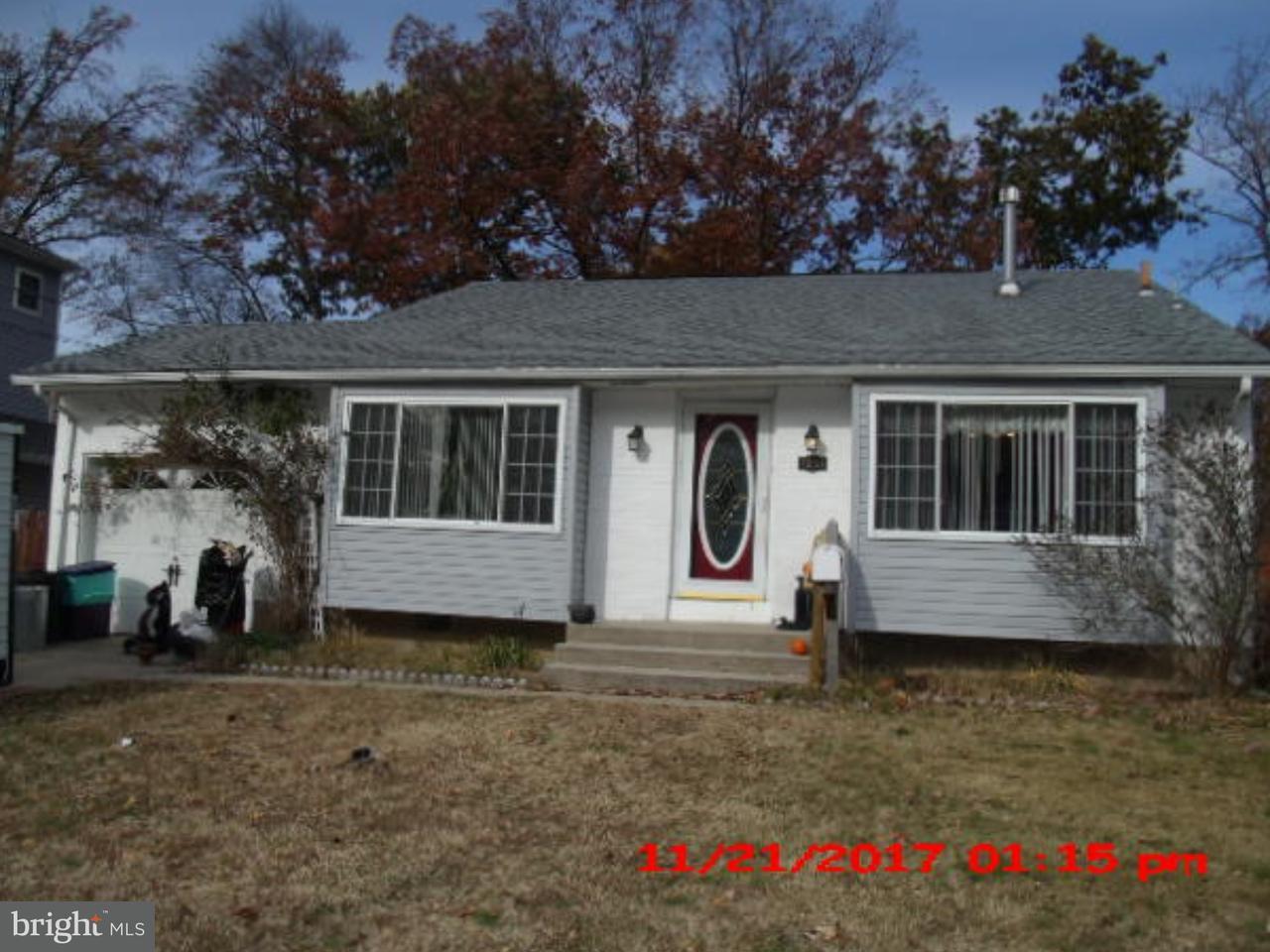 独户住宅 为 销售 在 1281 PURITAN Avenue Woodbury, 新泽西州 08096 美国
