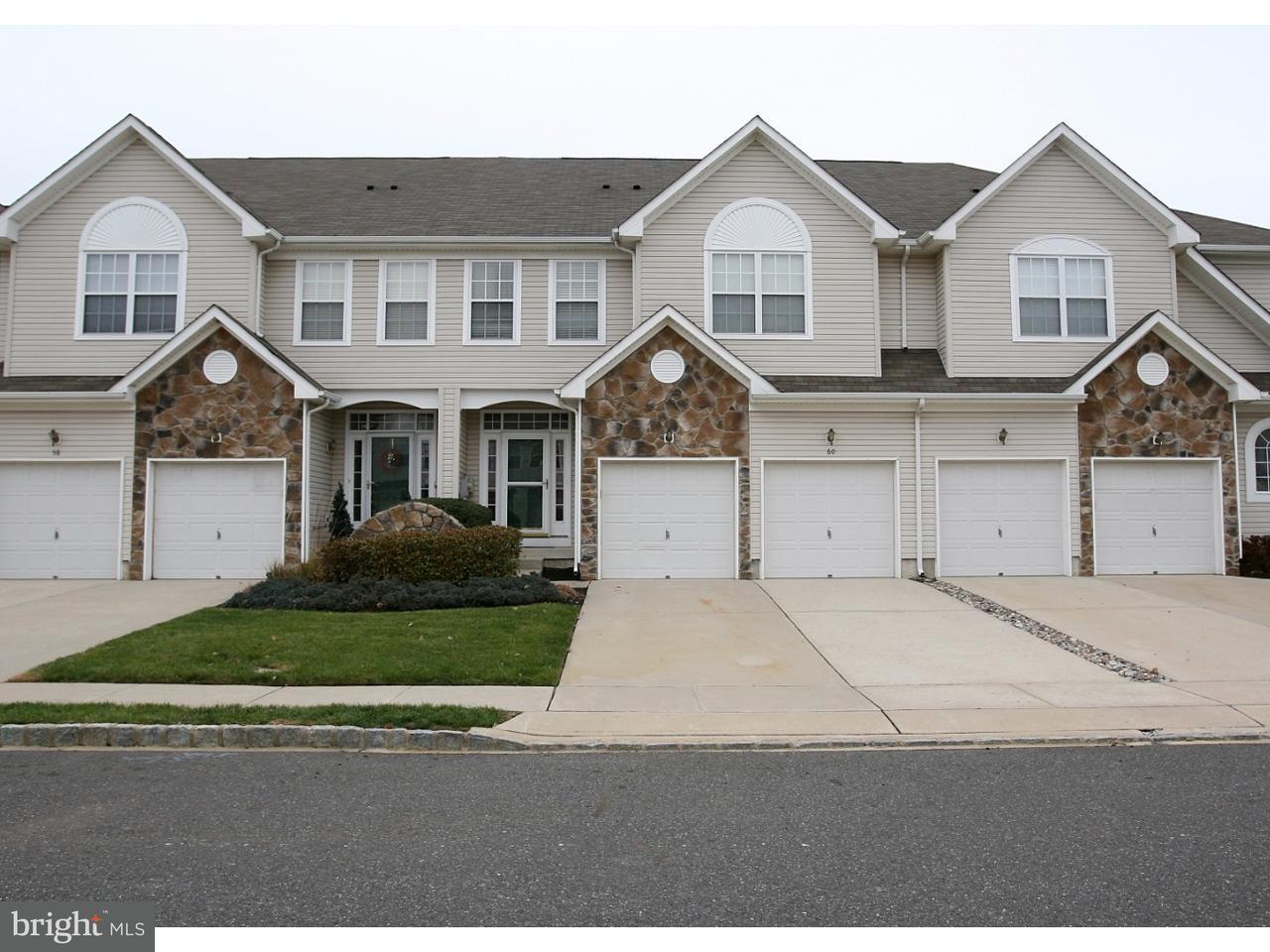 Maison accolée pour l Vente à 60 CYPRESS POINT Road Westampton Township, New Jersey 08060 États-Unis