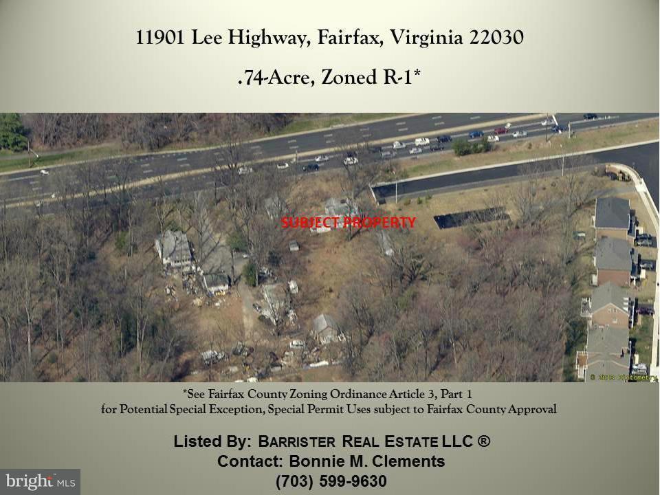 Land voor Verkoop een t 11901 LEE HWY 11901 LEE HWY Fairfax, Virginia 22030 Verenigde Staten