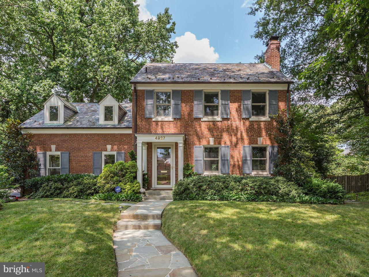 Single Family Home for Sale at 4927 SEDGWICK ST NW 4927 SEDGWICK ST NW Washington, District Of Columbia 20016 United States