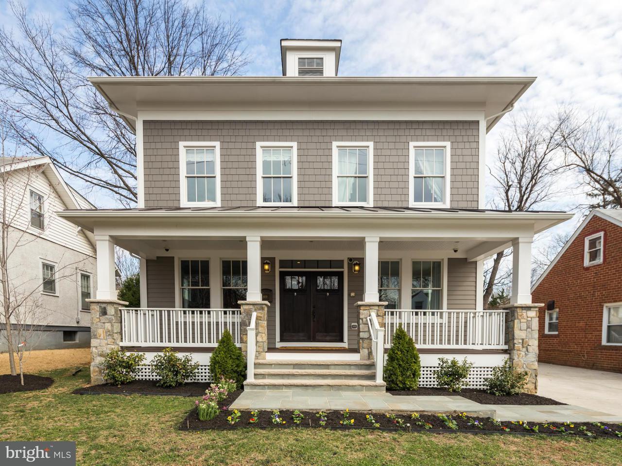 Single Family Home for Sale at 809 HIGHLAND ST N 809 HIGHLAND ST N Arlington, Virginia 22201 United States