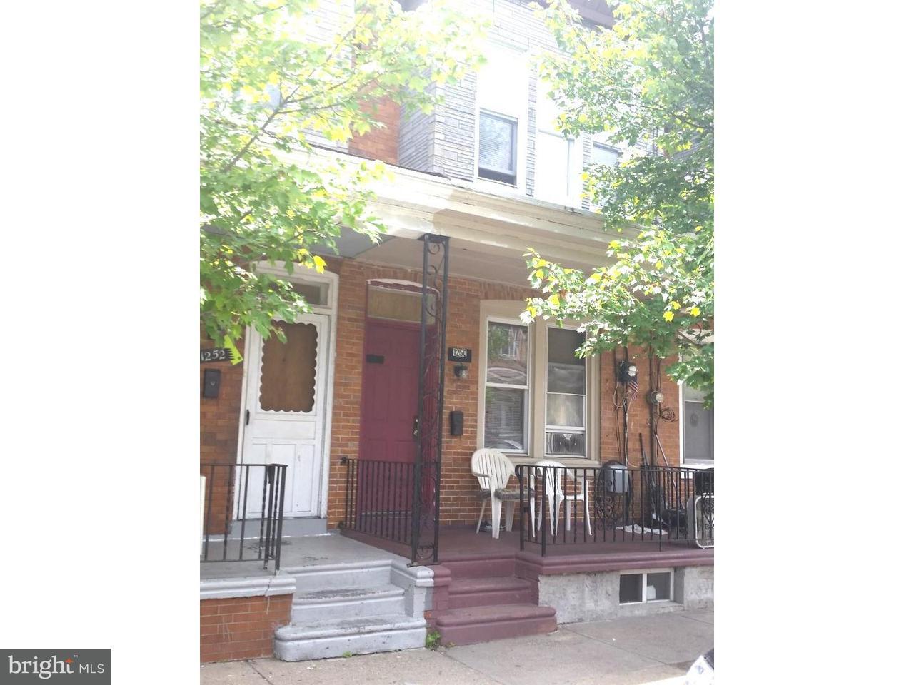 Таунхаус для того Продажа на 1250 JACKSON Street Camden, Нью-Джерси 08104 Соединенные Штаты