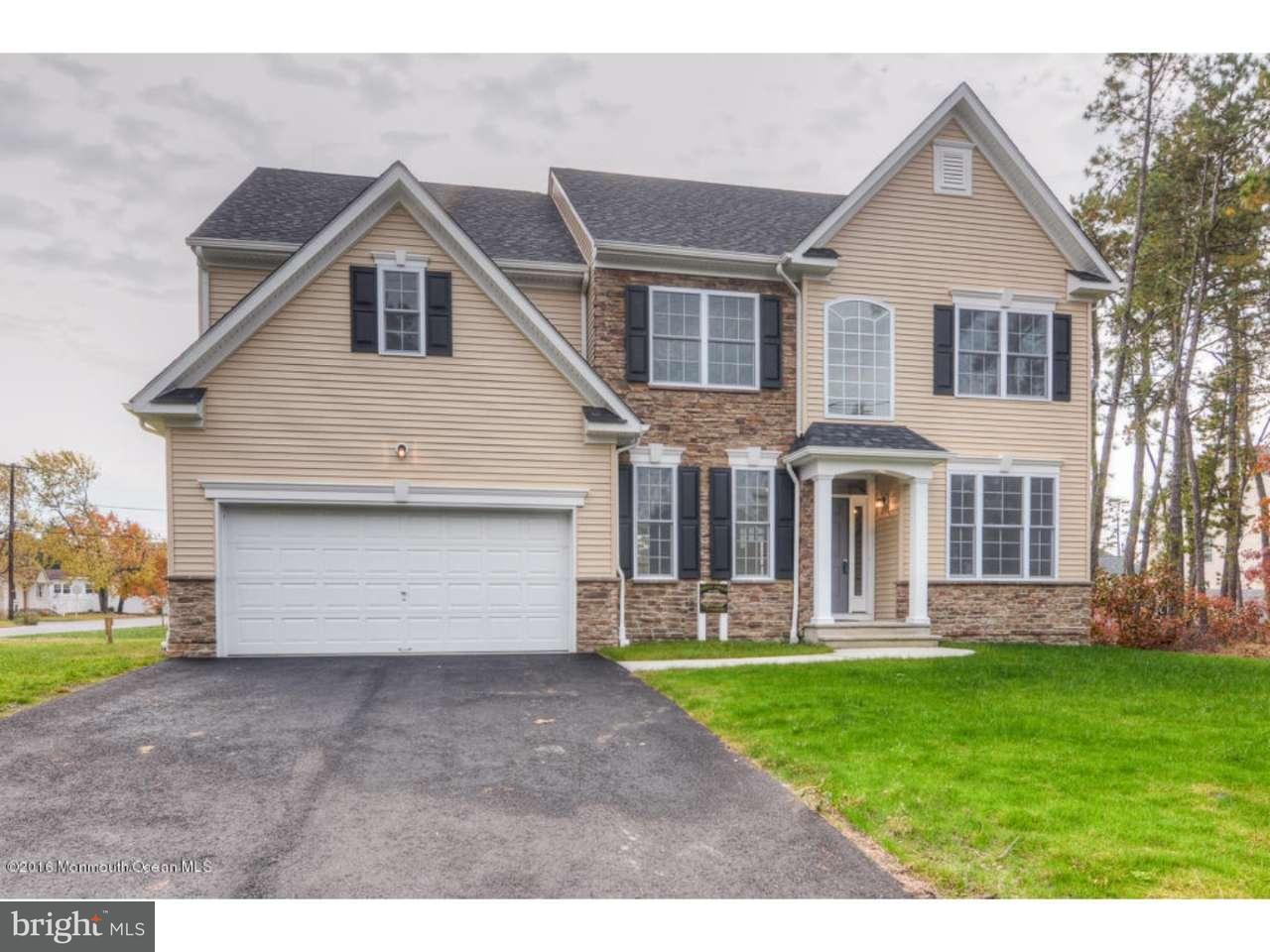 Maison unifamiliale pour l Vente à 1417 BIRMINGHAM Avenue Manchester, New Jersey 08757 États-Unis