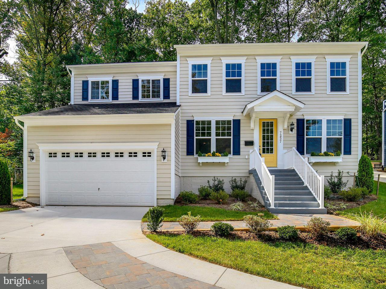 Single Family Home for Sale at 7237 WOODLEY Place 7237 WOODLEY Place Falls Church, Virginia 22046 United States