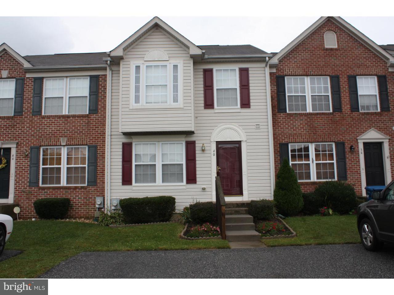 Maison accolée pour l à louer à 40 E FRED Circle Camden, Delaware 19934 États-Unis