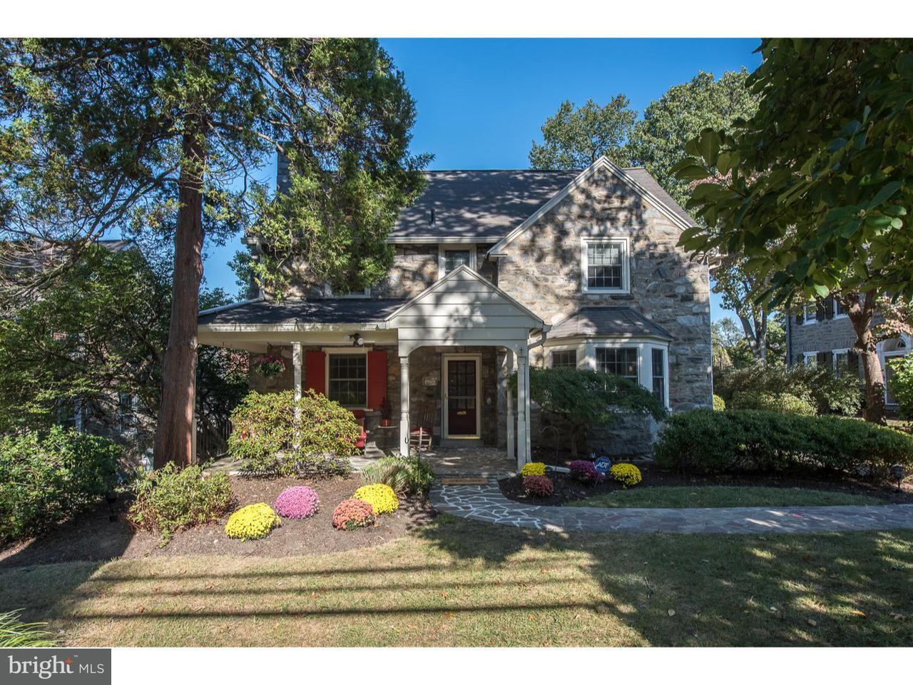Частный односемейный дом для того Продажа на 615 YALE Road Bala Cynwyd, Пенсильвания 19004 Соединенные Штаты