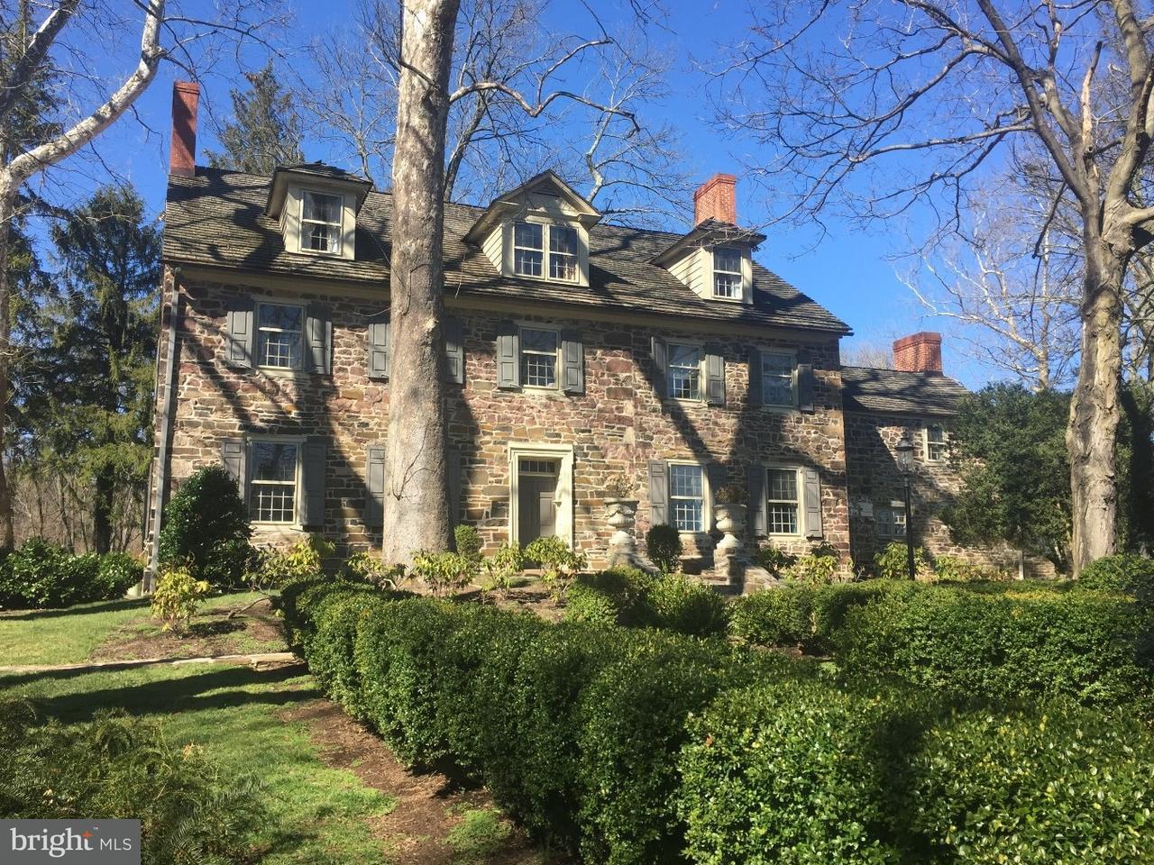 Maison unifamiliale pour l Vente à 1221-A MEETINGHOUSE Road Gwynedd, Pennsylvanie 19436 États-Unis