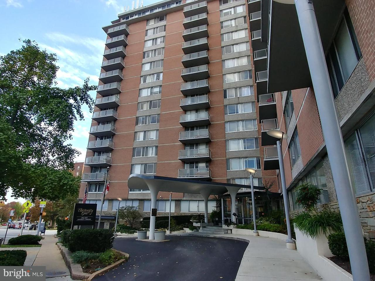 Condominium for Sale at 1 University Pkwy #610 Baltimore, Maryland 21218 United States