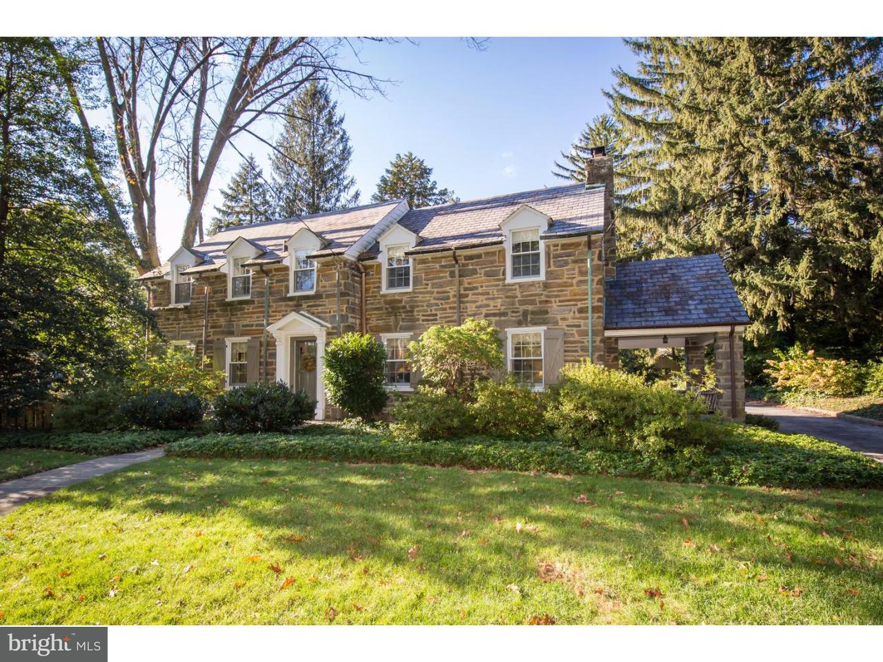 Casa Unifamiliar por un Venta en 525 E MERMAID Lane Wyndmoor, Pennsylvania 19038 Estados Unidos