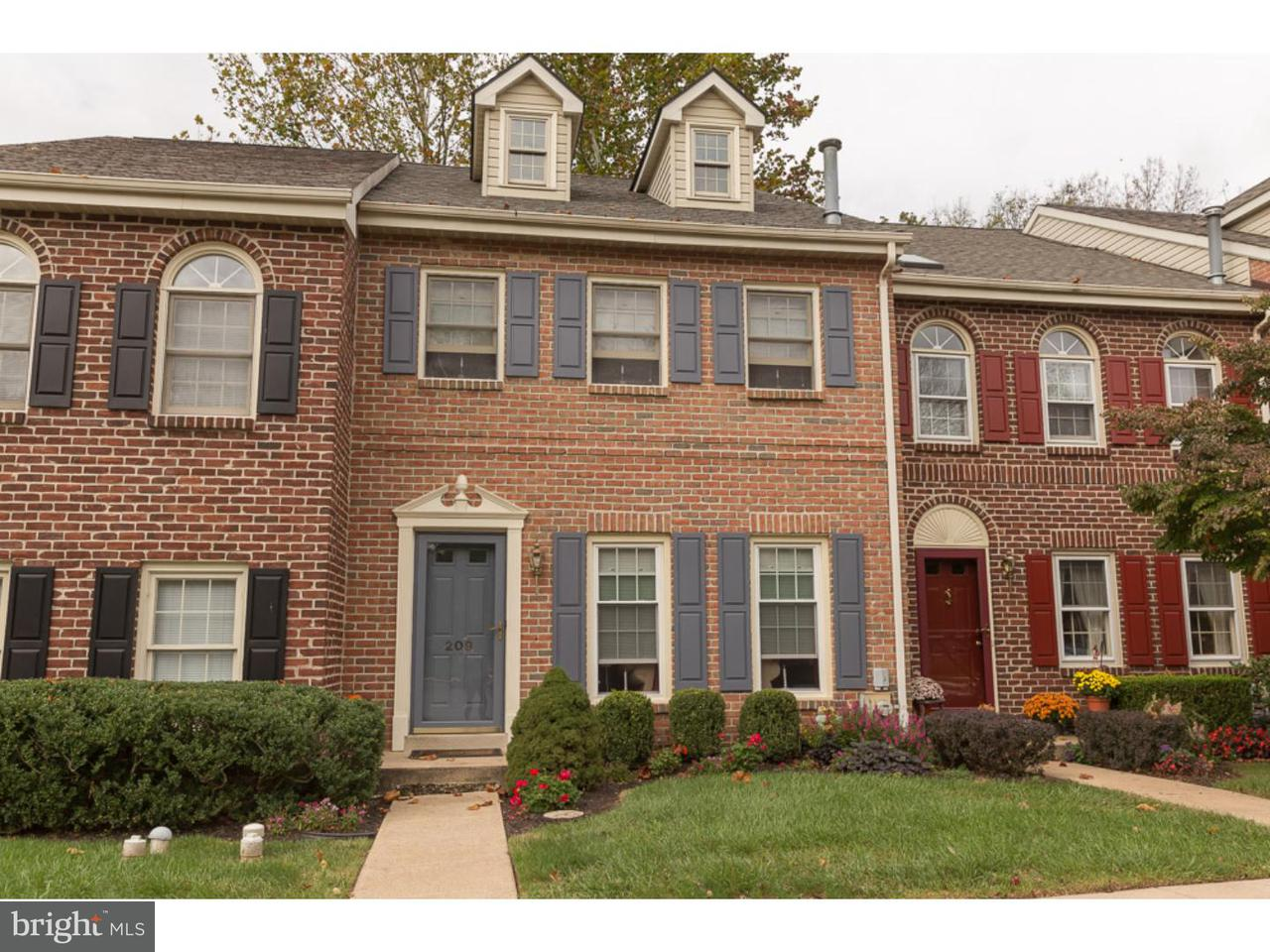 Townhouse for Rent at 209 GEORGETOWN Court Royersford, Pennsylvania 19468 United States
