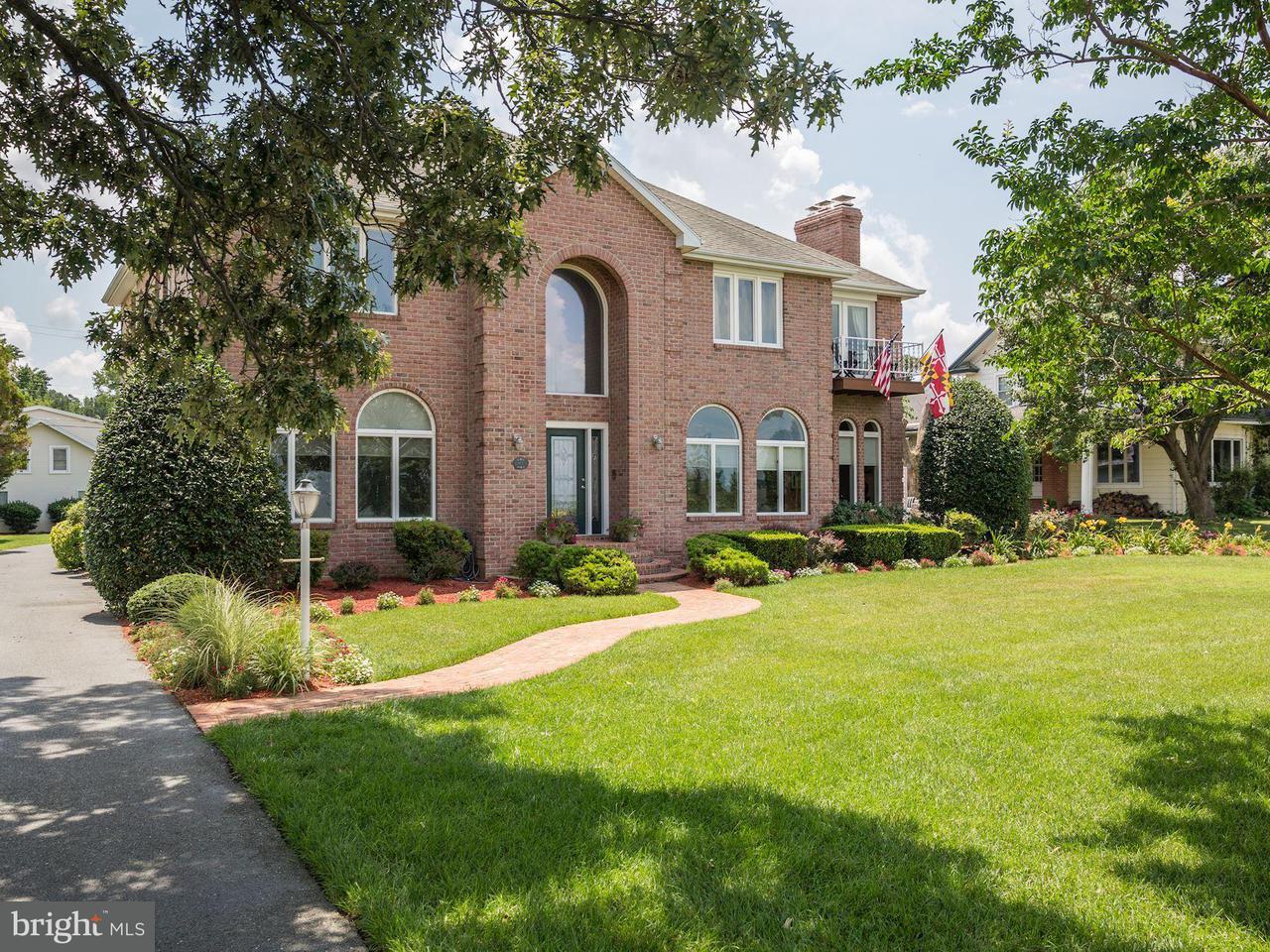 단독 가정 주택 용 매매 에 108 Riverside Drive 108 Riverside Drive Cambridge, 메릴랜드 21613 미국