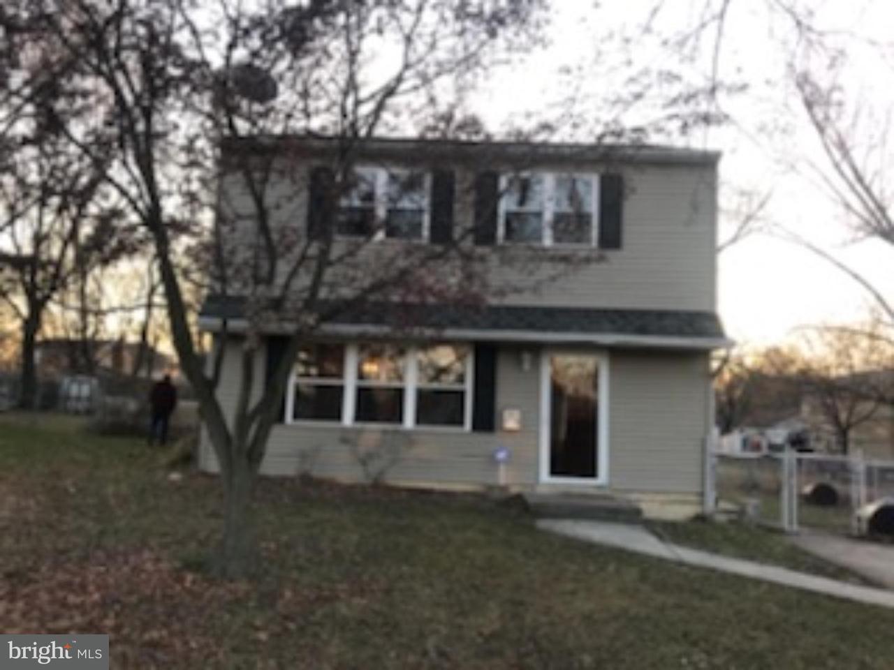 Maison unifamiliale pour l à louer à 217 VELDE Avenue Pennsauken, New Jersey 08110 États-Unis