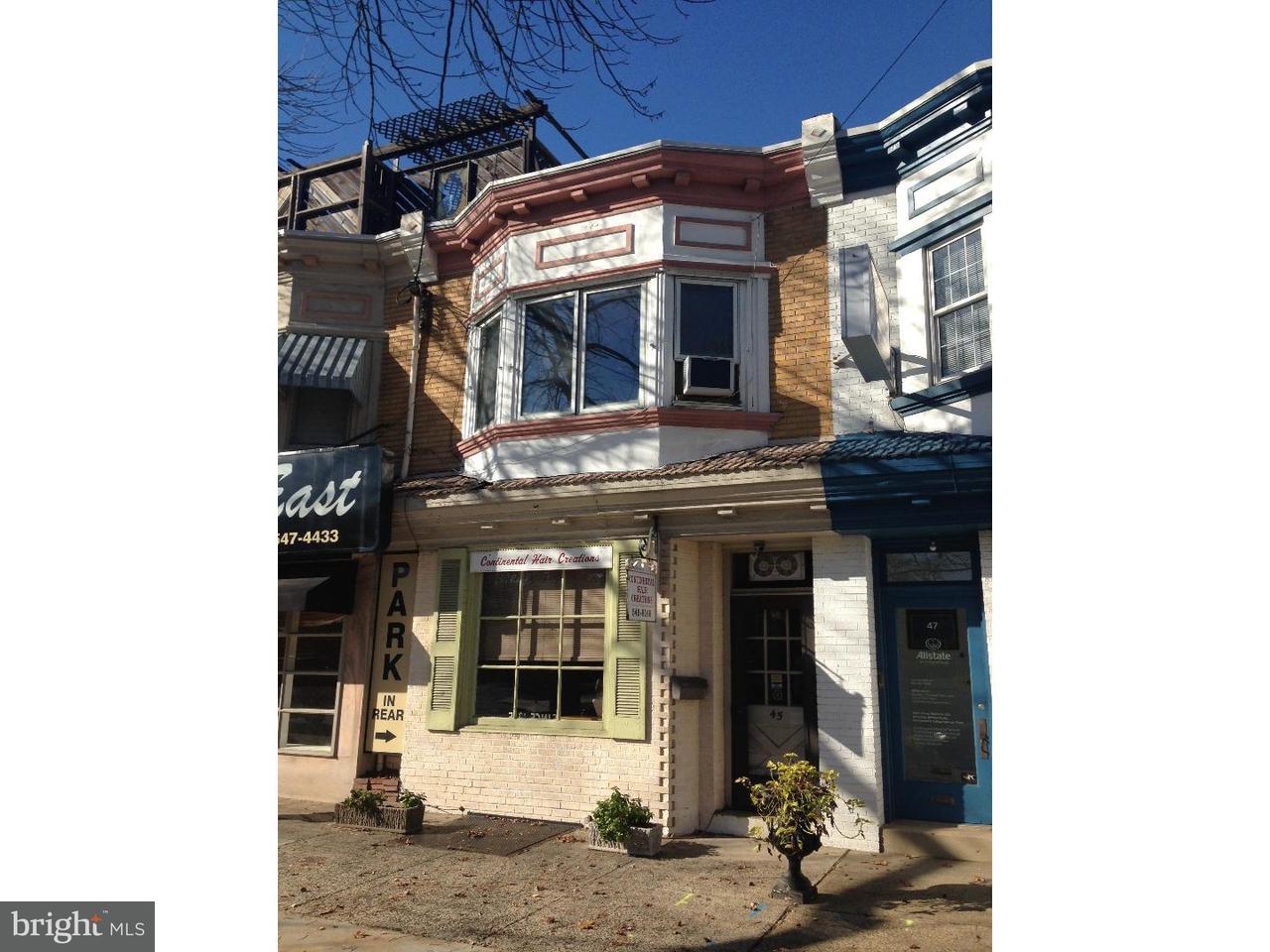 Quadraplex 为 出租 在 45 E KINGS HWY Audubon, 新泽西州 08106 美国