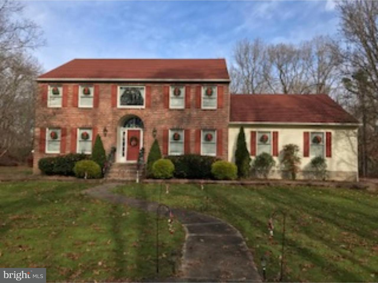 Maison unifamiliale pour l Vente à 66 JEFFERSON Road Pittsgrove, New Jersey 08318 États-Unis