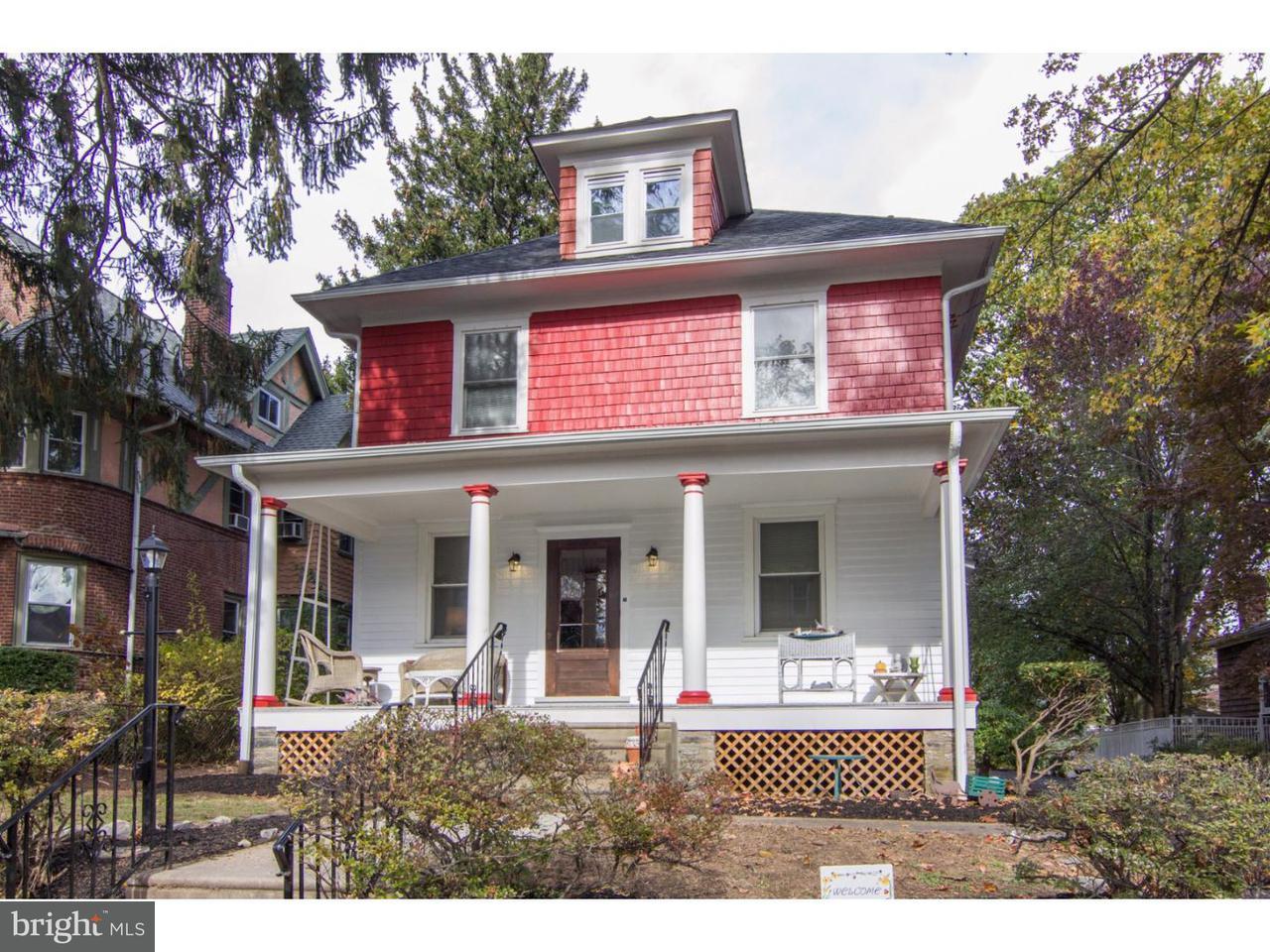 Частный односемейный дом для того Продажа на 2245 MENLO Avenue Glenside, Пенсильвания 19038 Соединенные Штаты