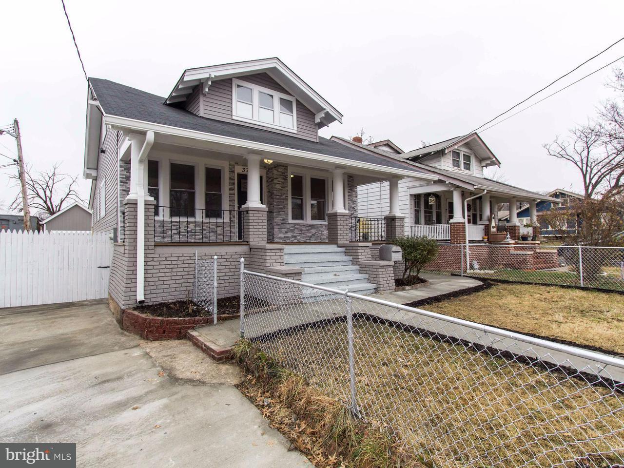 独户住宅 为 销售 在 3702 38TH Avenue 3702 38TH Avenue 布伦特伍德, 马里兰州 20722 美国