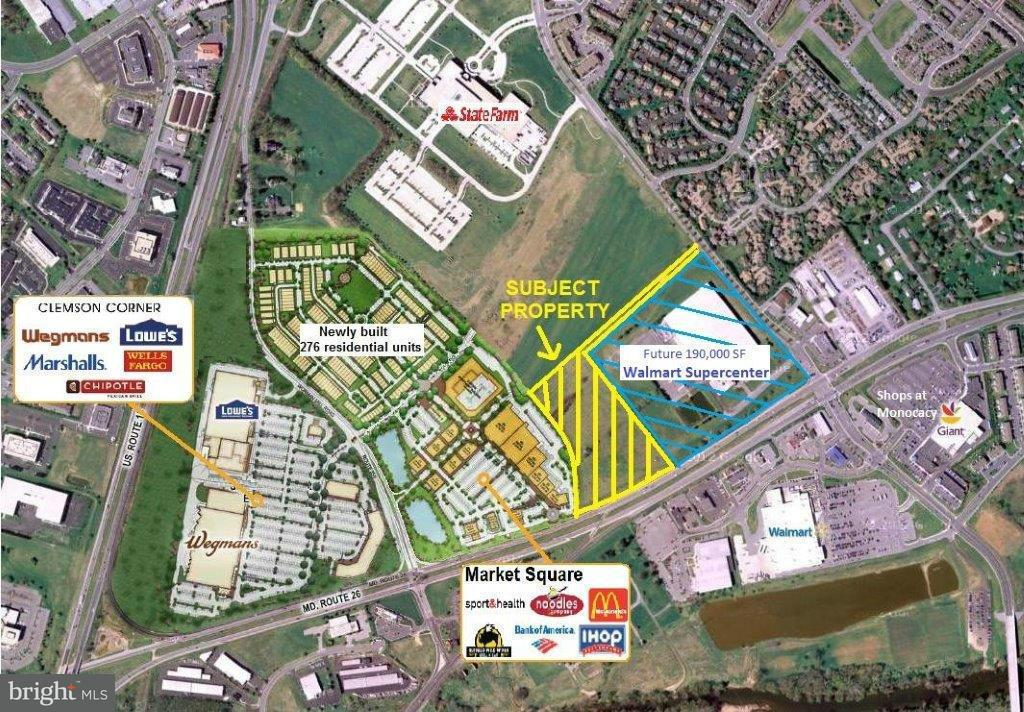 Land for Sale at 7850 MONOCACY BLVD 7850 MONOCACY BLVD Frederick, Maryland 21701 United States