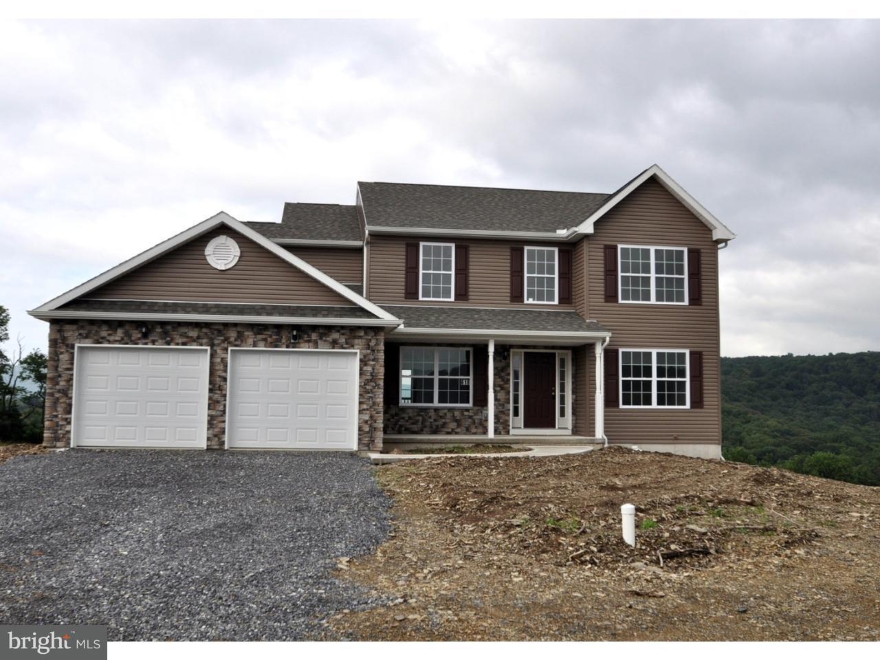 Частный односемейный дом для того Продажа на 618 KENSINGTON Circle Walnutport, Пенсильвания 18088 Соединенные Штаты