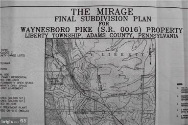 Terrain pour l Vente à WAYNESBORO Road WAYNESBORO Road Emmitsburg, Maryland 21727 États-Unis