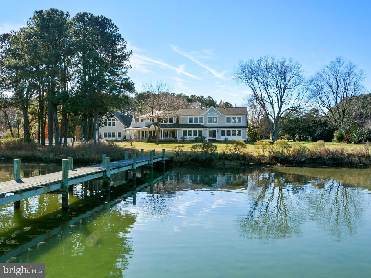 Частный односемейный дом для того Продажа на 25968 GOOSE NECK Road 25968 GOOSE NECK Road Royal Oak, Мэриленд 21662 Соединенные Штаты