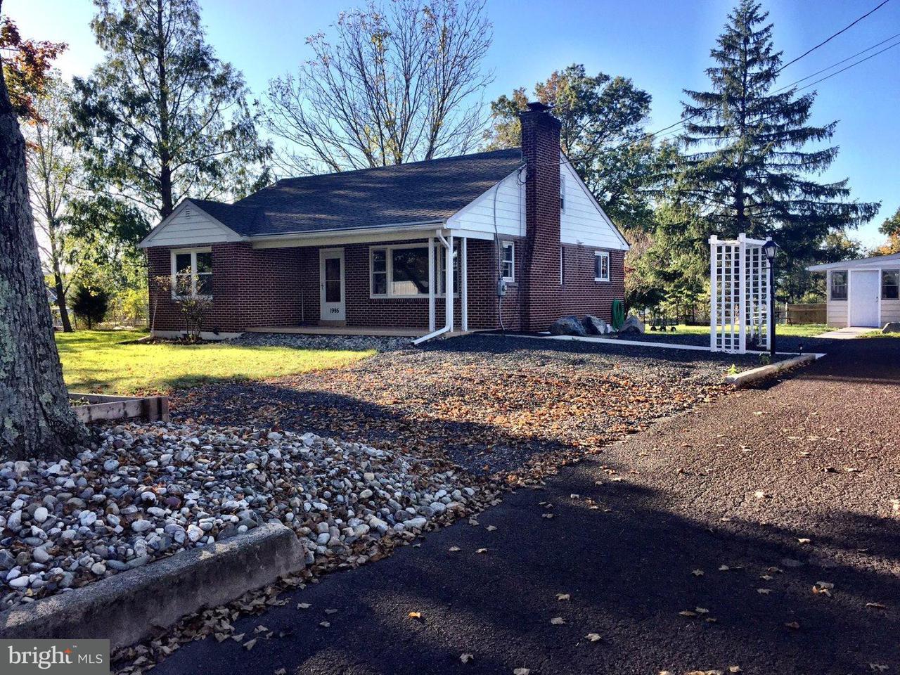 Частный односемейный дом для того Продажа на 1995 E CHERRY Lane Hilltown, Пенсильвания 18964 Соединенные Штаты