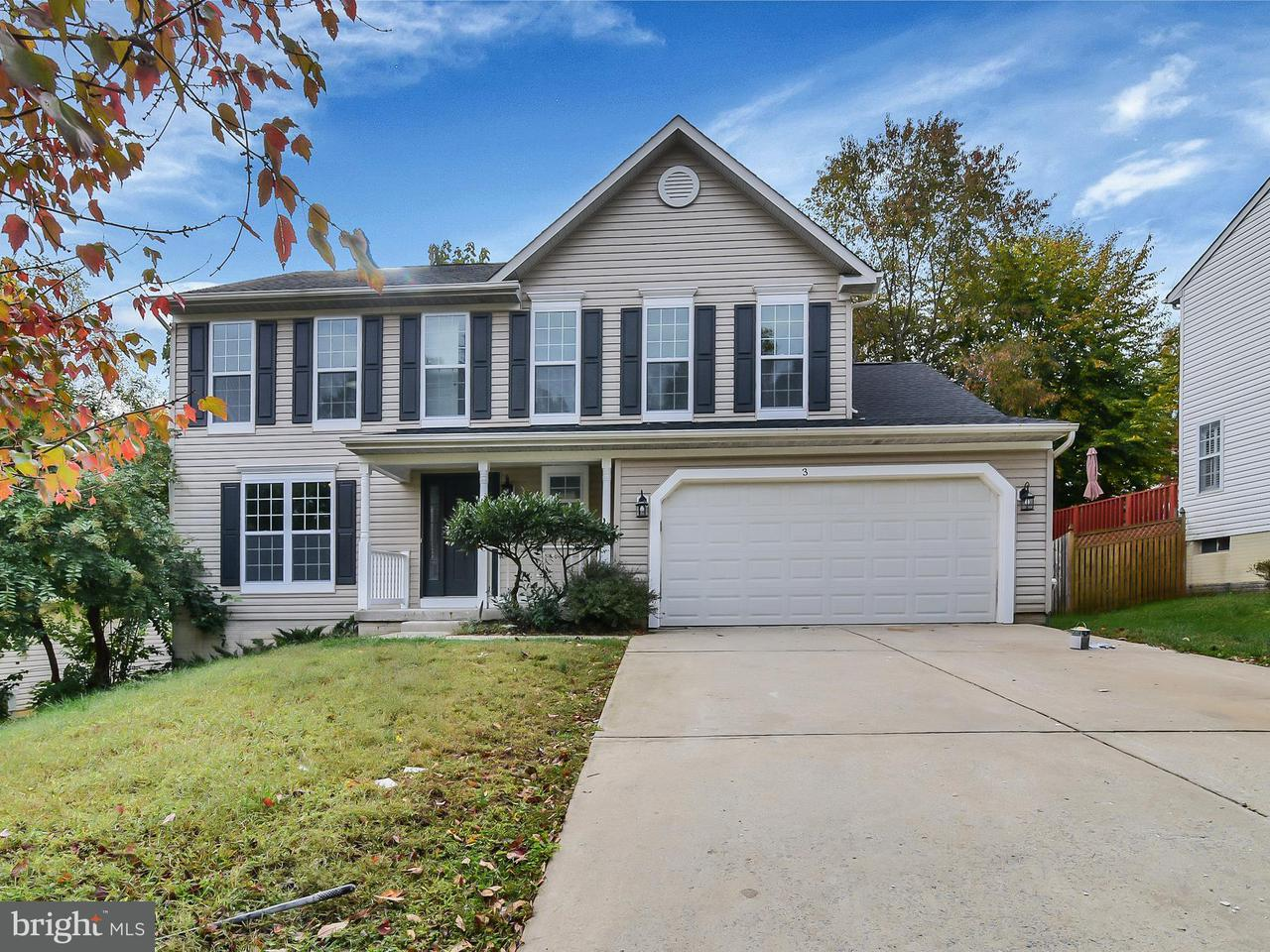 獨棟家庭住宅 為 出售 在 3111 NEEDLELEAF Lane 3111 NEEDLELEAF Lane Springdale, 馬里蘭州 20774 美國