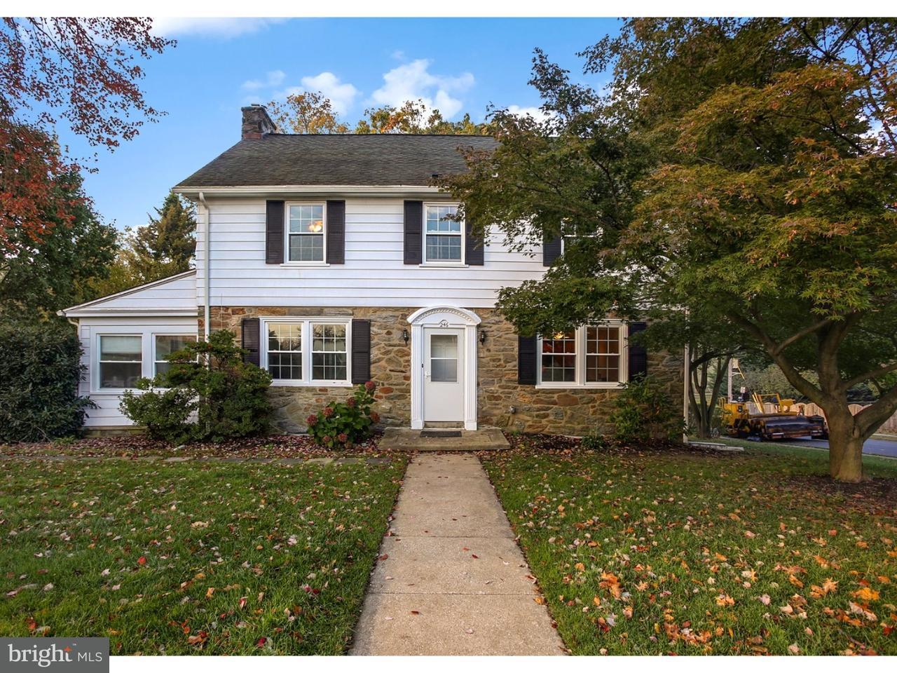 Maison unifamiliale pour l Vente à 246 E LEAMY Avenue Springfield, Pennsylvanie 19064 États-Unis
