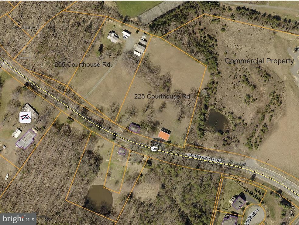 토지 용 매매 에 205 COURTHOUSE Road 205 COURTHOUSE Road Stafford, 버지니아 22554 미국