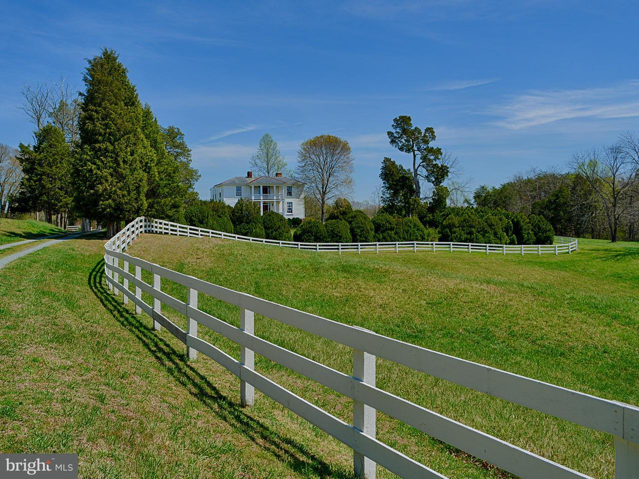 Farm for Sale at 1034 RED BANK Lane 1034 RED BANK Lane Fork Union, Virginia 23055 United States