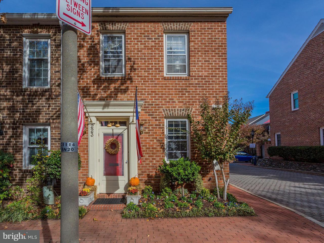 Townhouse for Sale at 223 ORONOCO Street 223 ORONOCO Street Alexandria, Virginia 22314 United States
