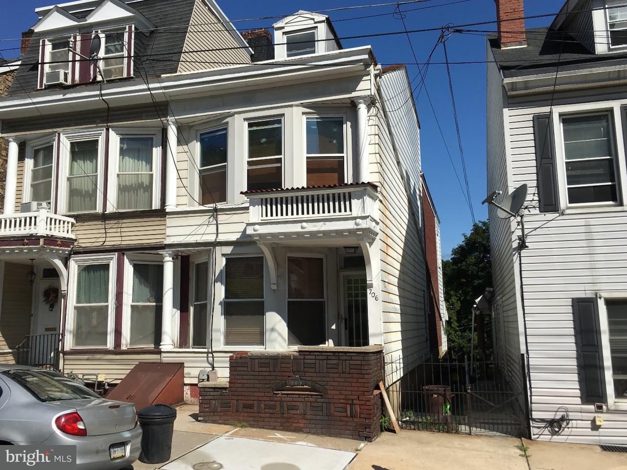 Duplex for Sale at 706 MAHANTONGO Street Pottsville, Pennsylvania 17901 United States