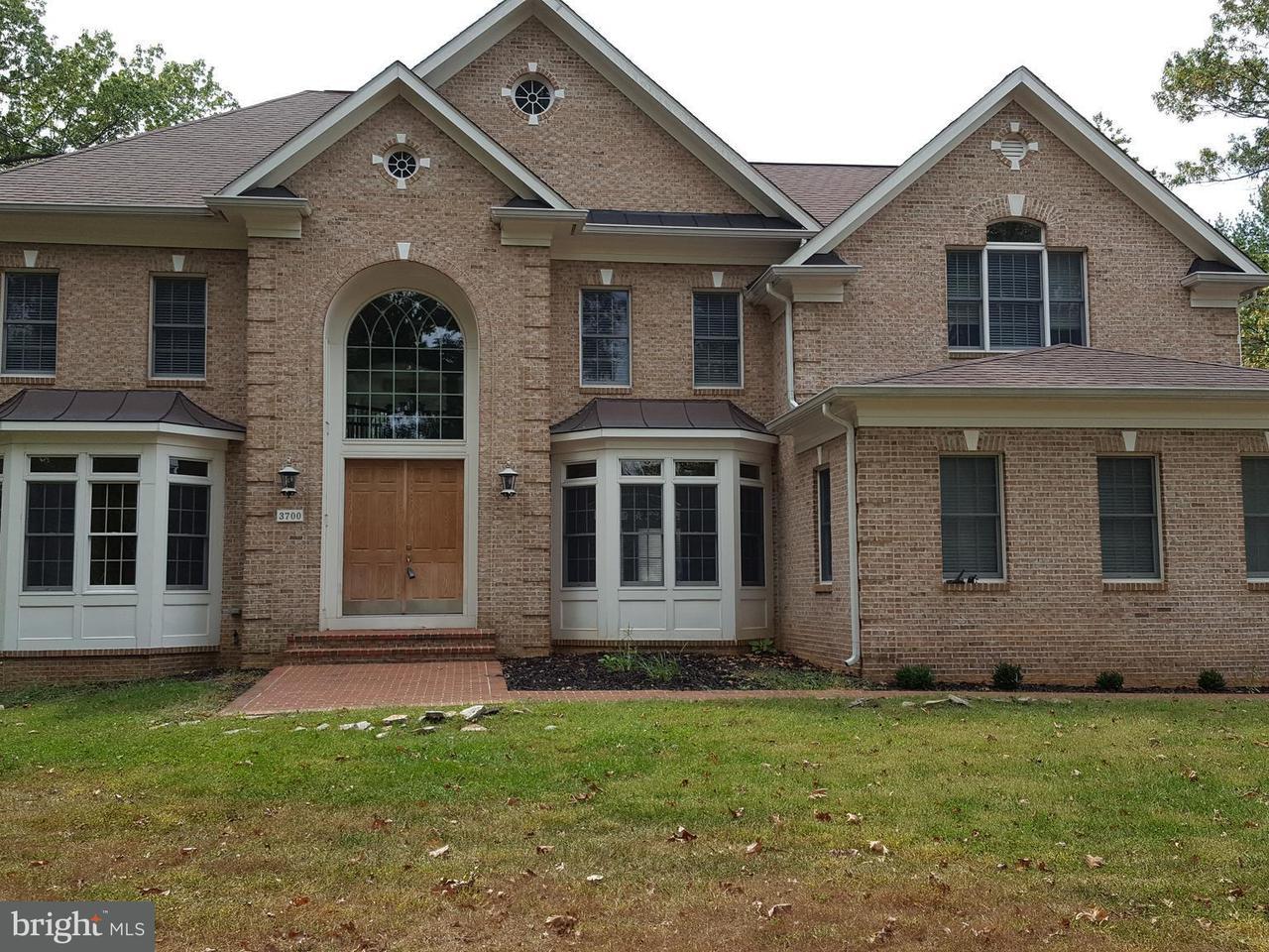 Частный односемейный дом для того Продажа на 3700 ANNANDALE Road 3700 ANNANDALE Road Annandale, Виргиния 22003 Соединенные Штаты