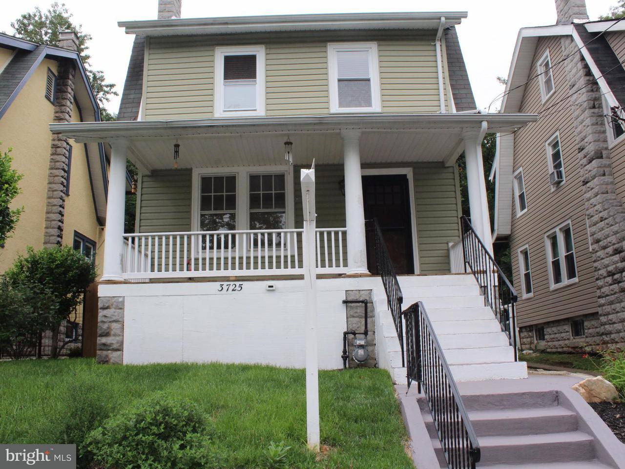 獨棟家庭住宅 為 出售 在 3725 26TH ST NE 3725 26TH ST NE Washington, 哥倫比亞特區 20018 美國