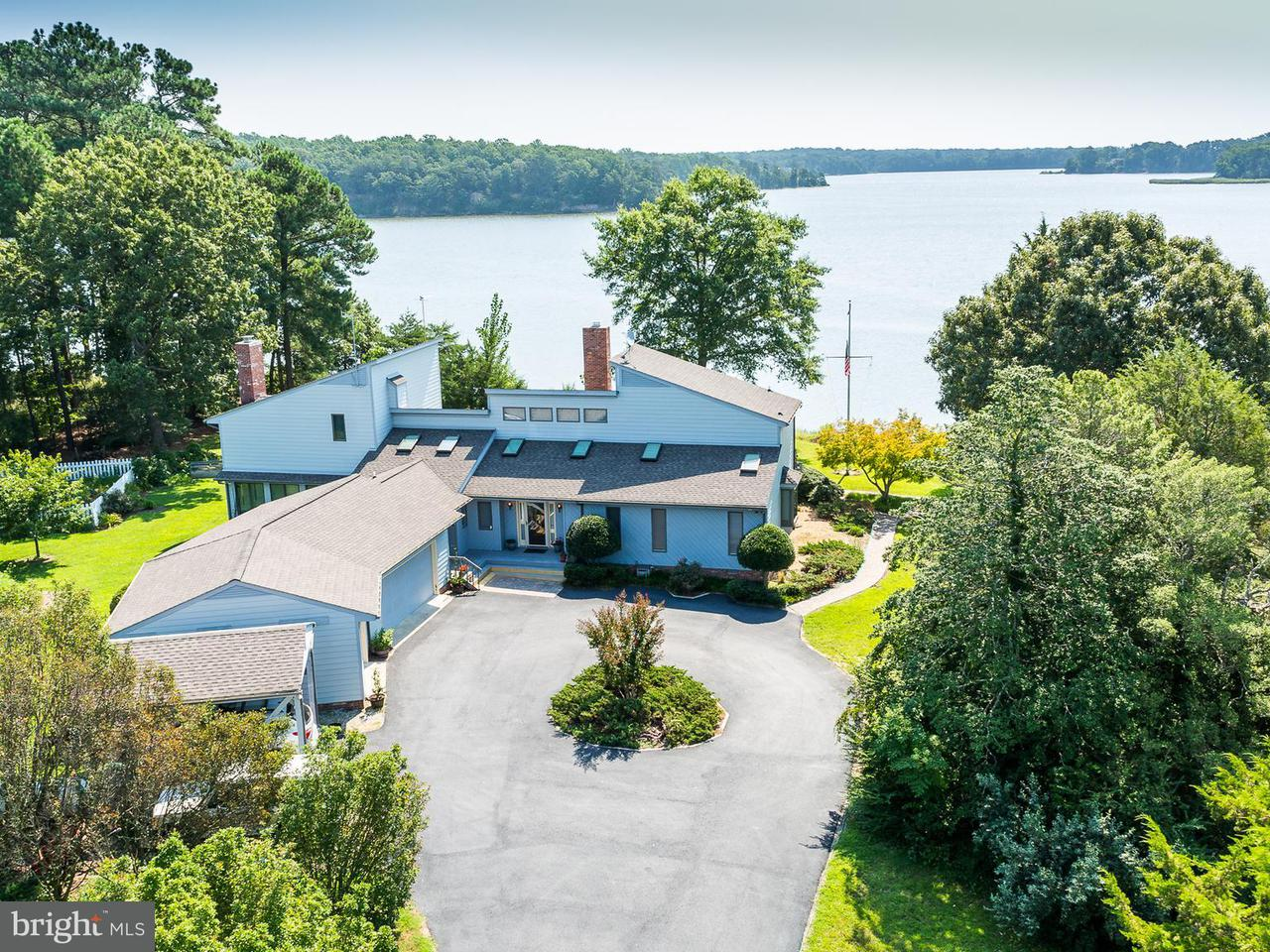 Single Family Home for Sale at 1860 Island Point Road 1860 Island Point Road Heathsville, Virginia 22473 United States