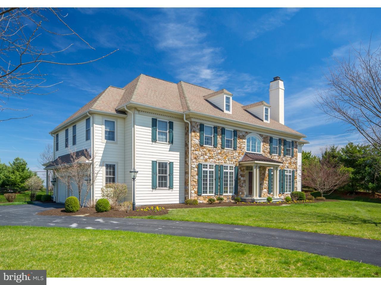 Maison unifamiliale pour l Vente à 21 EDGEHILL Lane Collegeville, Pennsylvanie 19426 États-Unis