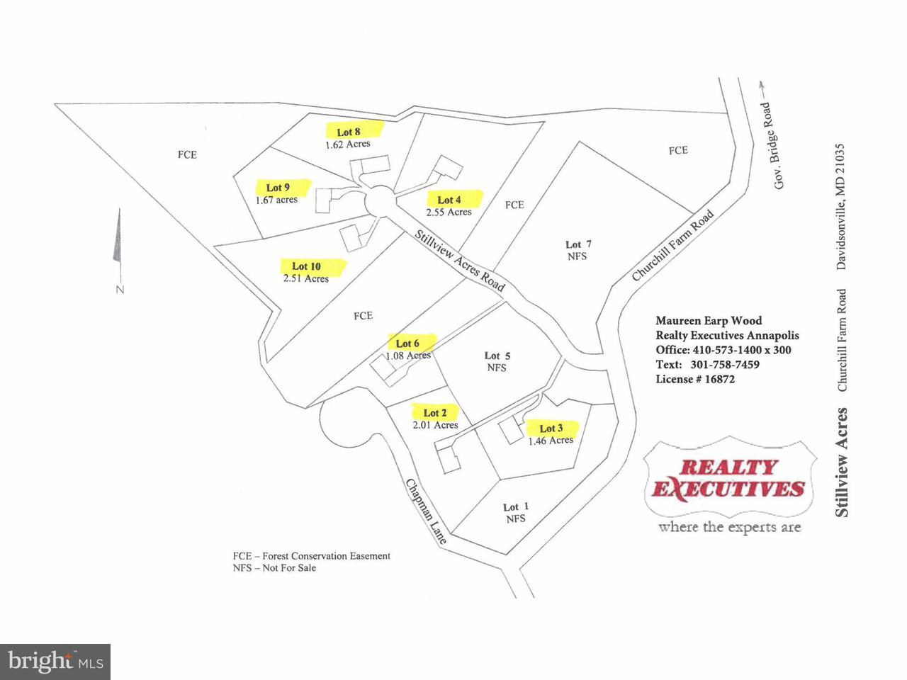 Land for Sale at STILLVIEW ACRES Road STILLVIEW ACRES Road Davidsonville, Maryland 21035 United States