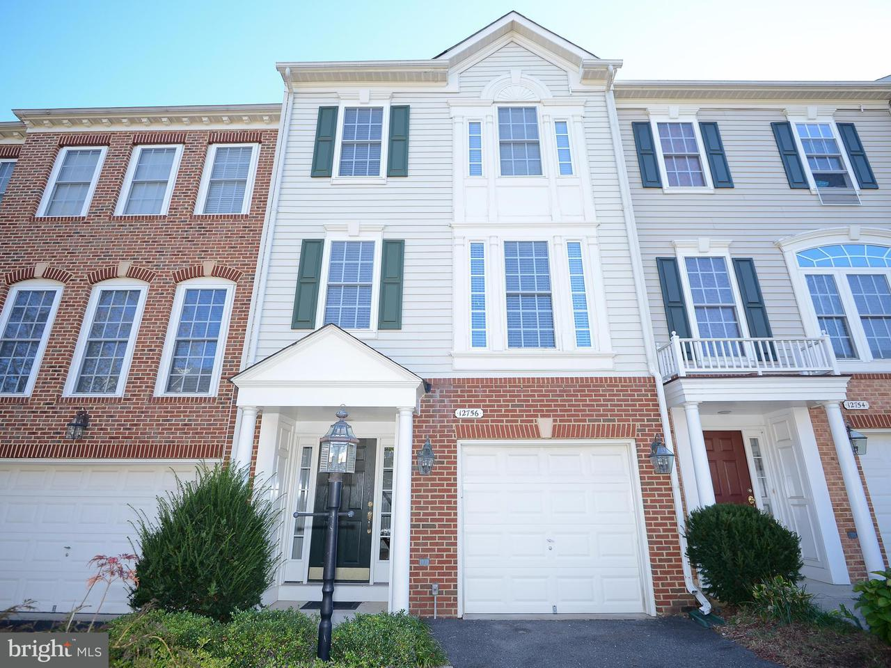 Townhouse for Sale at 12756 HERON RIDGE Drive 12756 HERON RIDGE Drive Fairfax, Virginia 22030 United States