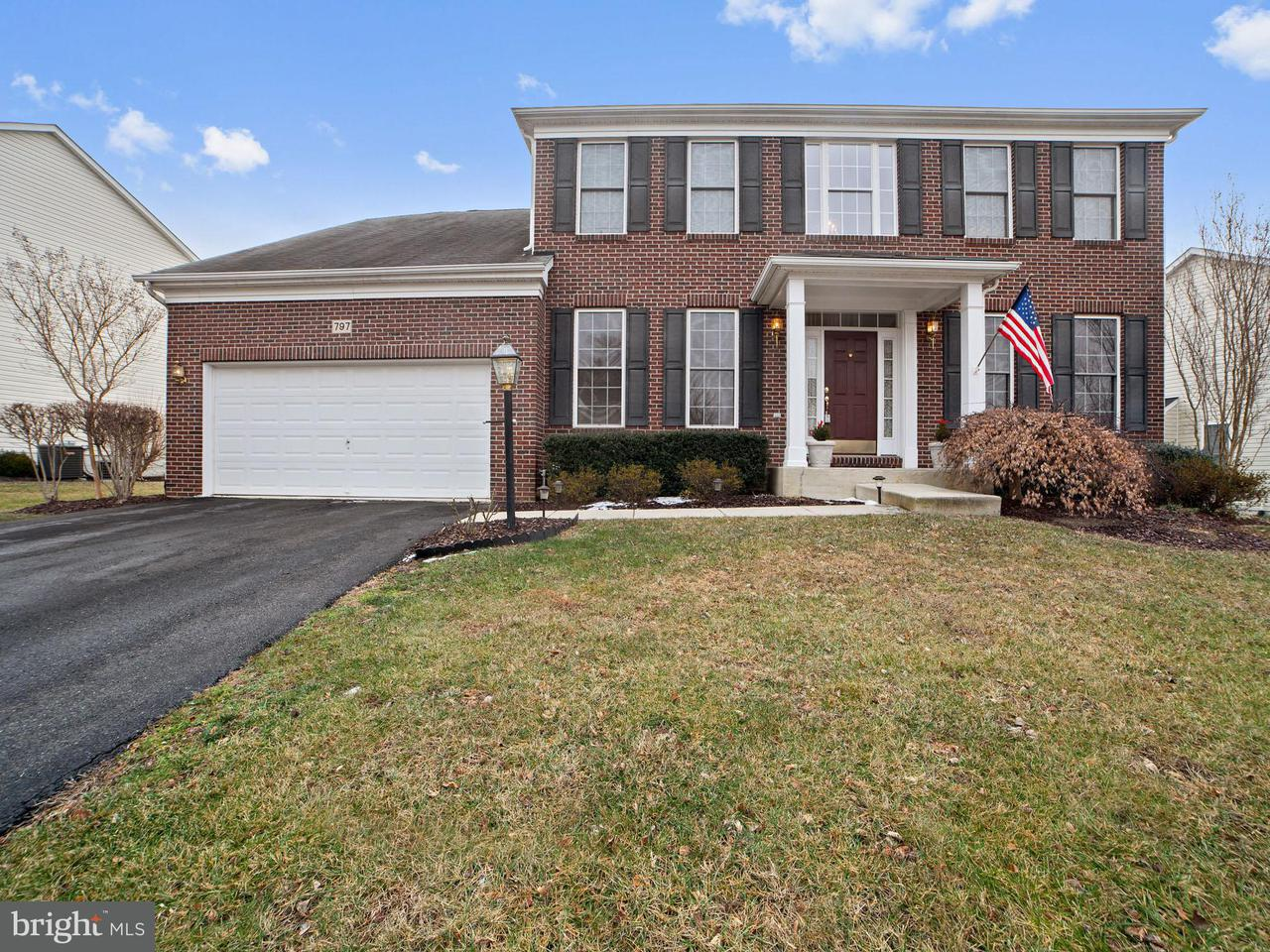 Single Family Home for Sale at 797 SENECA Drive 797 SENECA Drive Odenton, Maryland 21113 United States