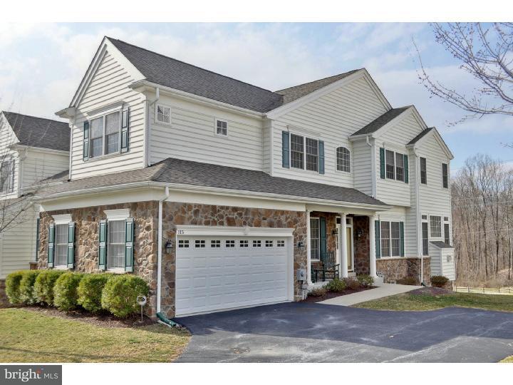 Maison accolée pour l à louer à 115 WHITELAND HILLS Circle Exton, Pennsylvanie 19341 États-Unis