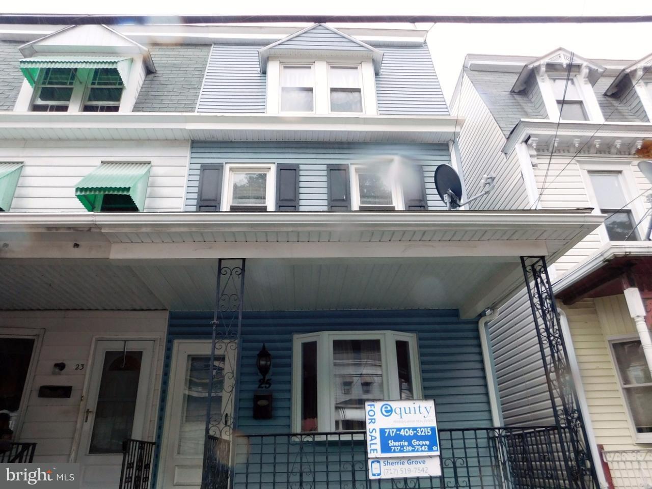 Casa unifamiliar adosada (Townhouse) por un Venta en 25 S DELAWARE Avenue Minersville, Pennsylvania 17954 Estados Unidos