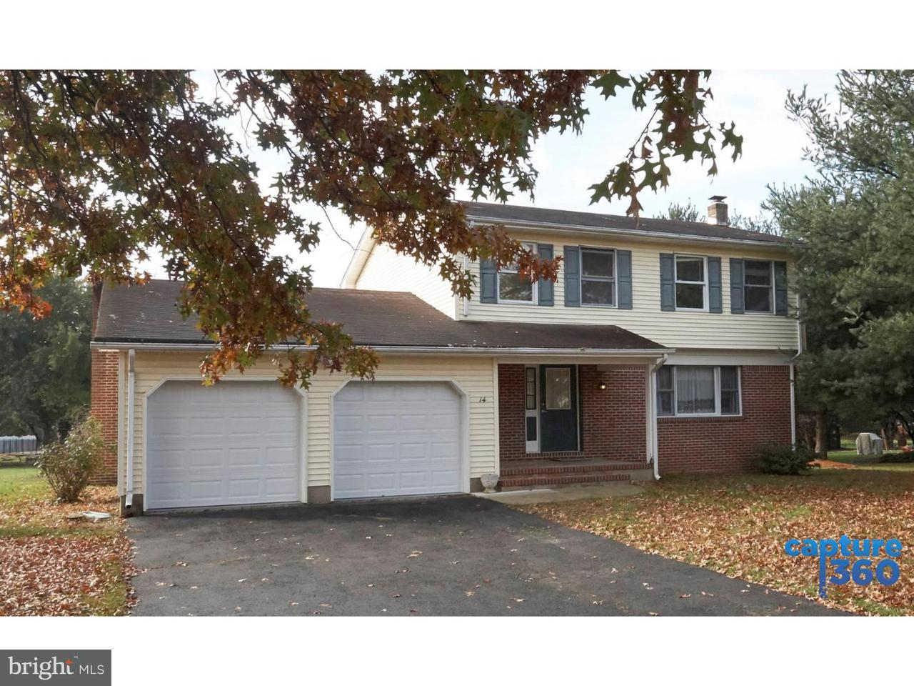Single Family Home for Sale at 14 CARTY Drive Florence, New Jersey 08505 United States