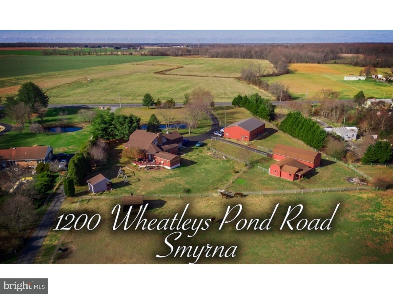 Single Family Home for Sale at 1200 WHEATLEYS POND Road Smyrna, Delaware 19936 United States