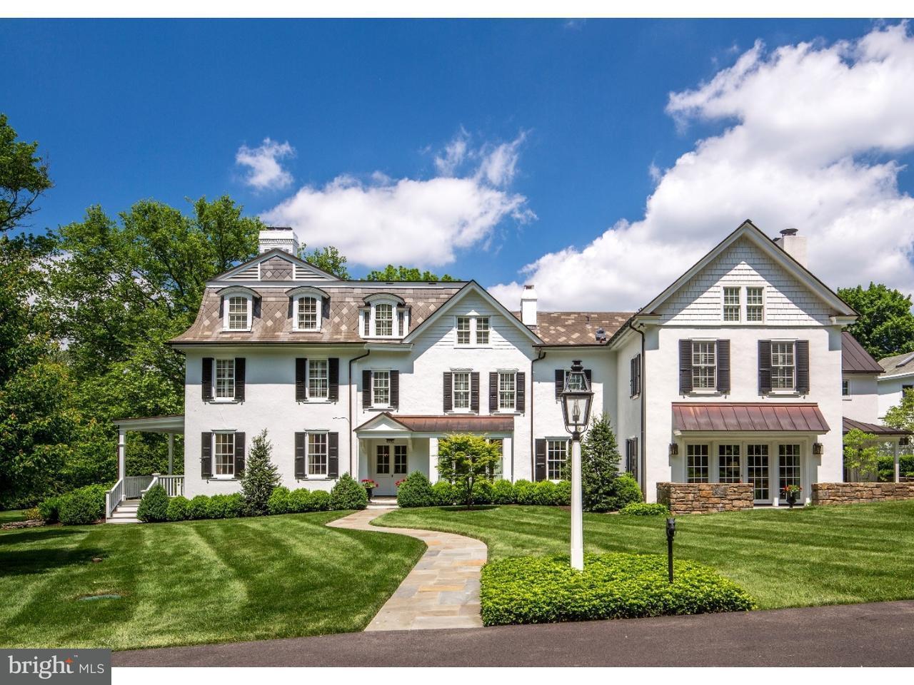 Частный односемейный дом для того Продажа на 508 PENLLYN PIKE Lower Gwynedd, Пенсильвания 19422 Соединенные Штаты