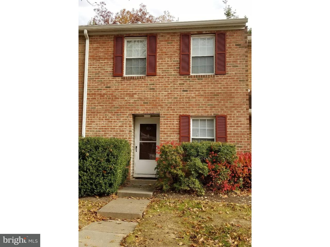 联栋屋 为 出租 在 85 QUINCE Court 劳伦斯维尔, 新泽西州 08648 美国在/周边: Lawrence Township