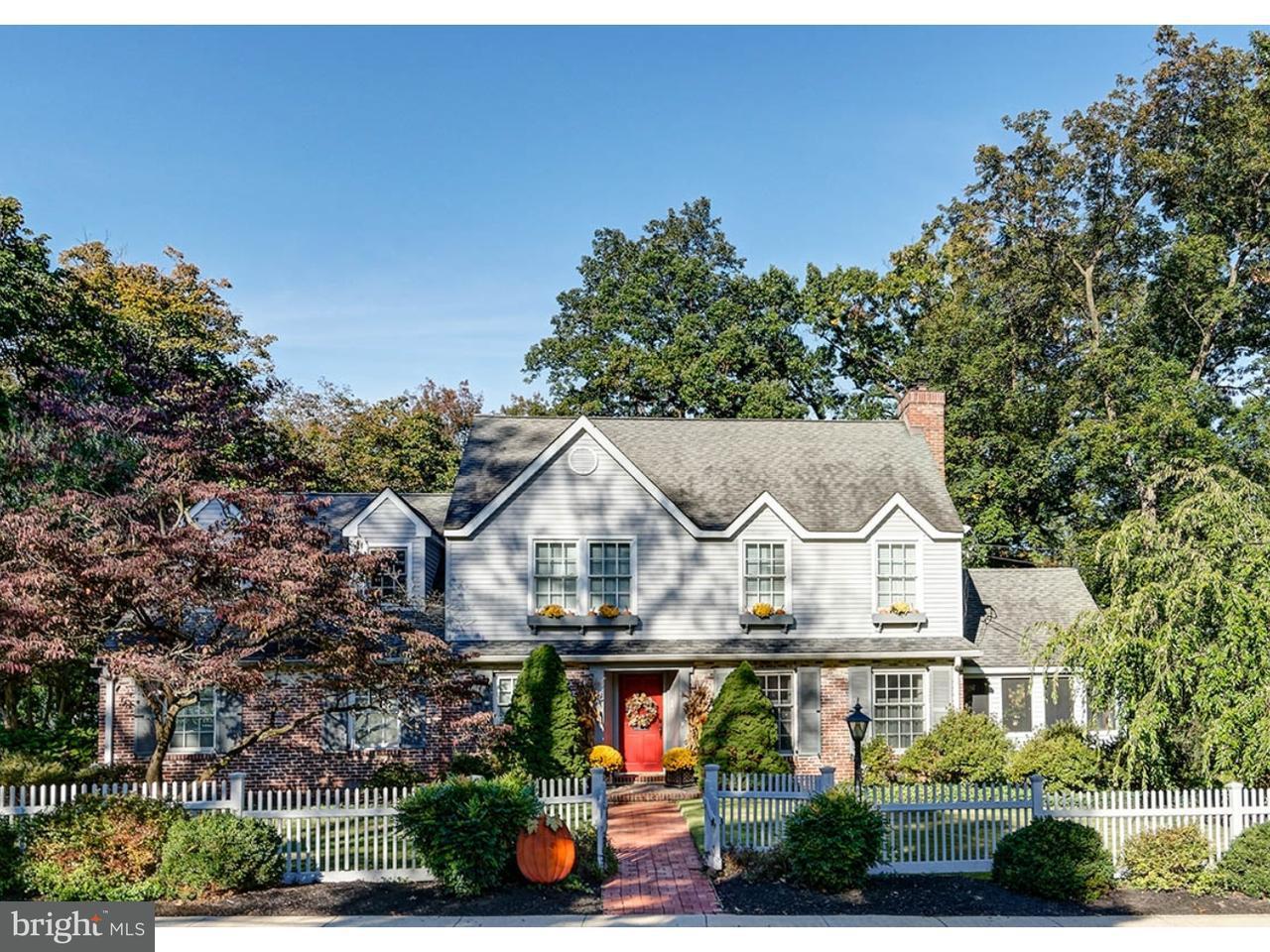 Maison unifamiliale pour l Vente à 510 WESTMINSTER Avenue Haddonfield, New Jersey 08033 États-Unis