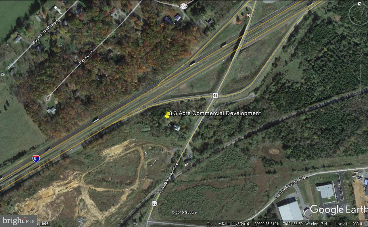Land for Sale at 1395 John Marshall Hwy 1395 John Marshall Hwy Strasburg, Virginia 22657 United States