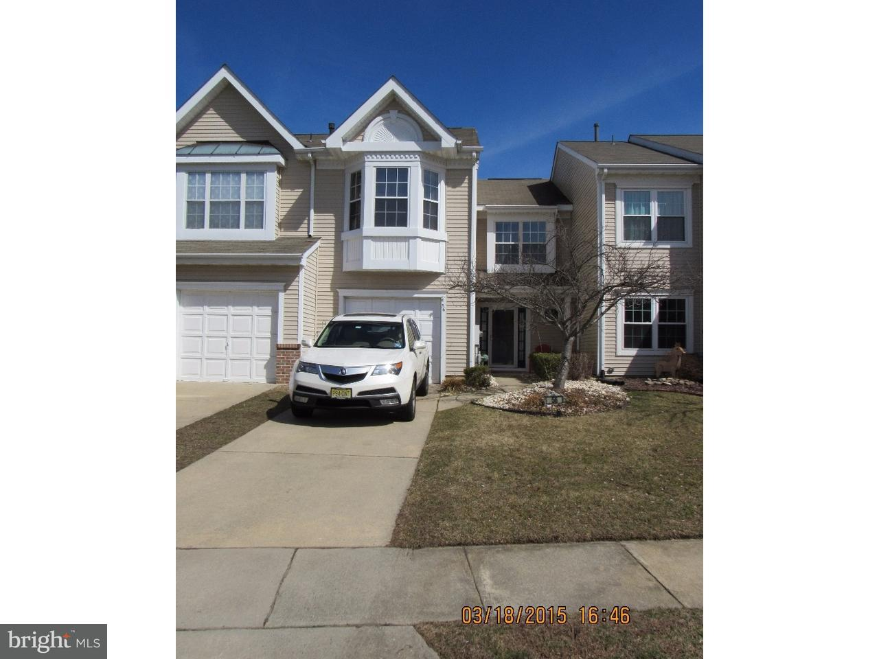 Townhouse for Sale at 56 SAW MILL Drive Mount Laurel, New Jersey 08054 United States