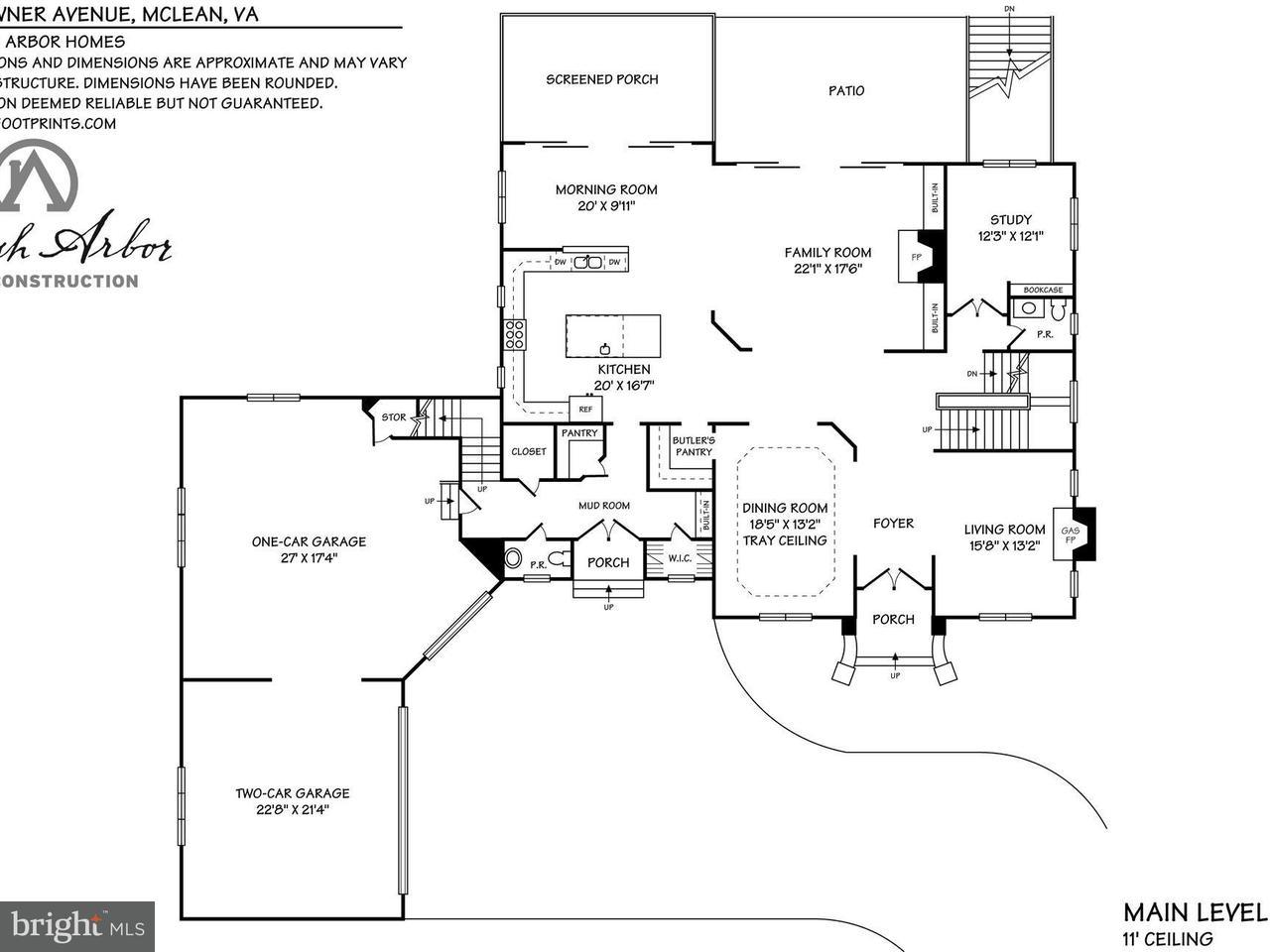 Single Family Home for Sale at 6602 Brawner Street 6602 Brawner Street McLean, Virginia 22101 United States